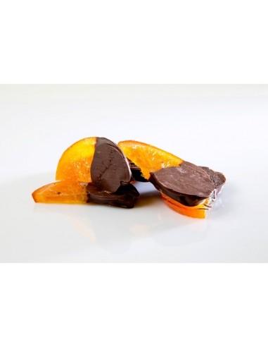 ORANGES CONFITES CHOCOLATEES