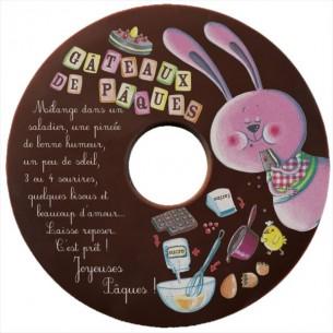 CD EN CHOCOLAT AU LAIT OU CHOCOLAT BLANC