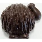 MOUTON PELOTE EN CHOCOLAT NOIR