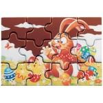PUZZLE EN CHOCOLAT NOIR