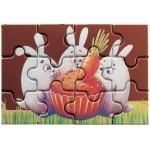 PUZZLE EN CHOCOLAT AU LAIT OU BLANC